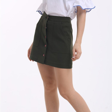 latest fashion designer ladies skirts elegant short skirt