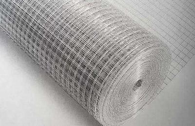 1/4 x 1/4 23G 4ft x 30m Stainless Steel 304 Weld Mesh Plain Weave Screen for Construction Mesh and Fence Netting