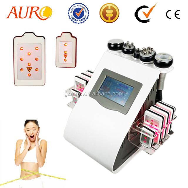 Au-61B Christmas Big Sale 6 in 1 Laser Weight Loss Cavitation Cosmetic Device