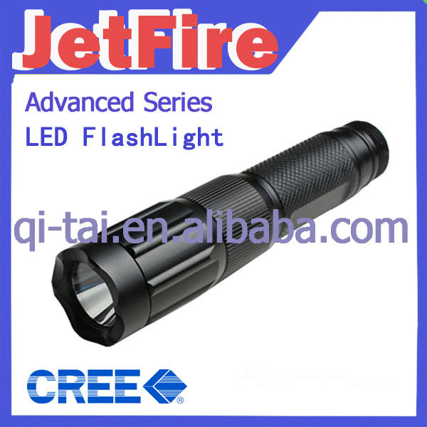 XP-E F23 CREE XRE-R2 5-Mode Stainless Steel mini rechargeable led flashlight (1XAAA/10440)
