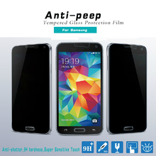 Anti-peeping Privacy Tempered Glass Screen Protector For Samsung Galaxy S3