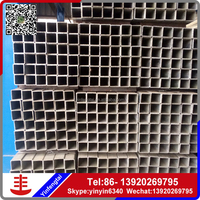 GI rectangular tube/galvanized steel tube manufacturers
