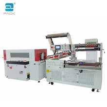 FQ-5540T+CS-5030LS Automatic heat thermal shrink wrap wrapping packing packaging tunnel machine for carton box