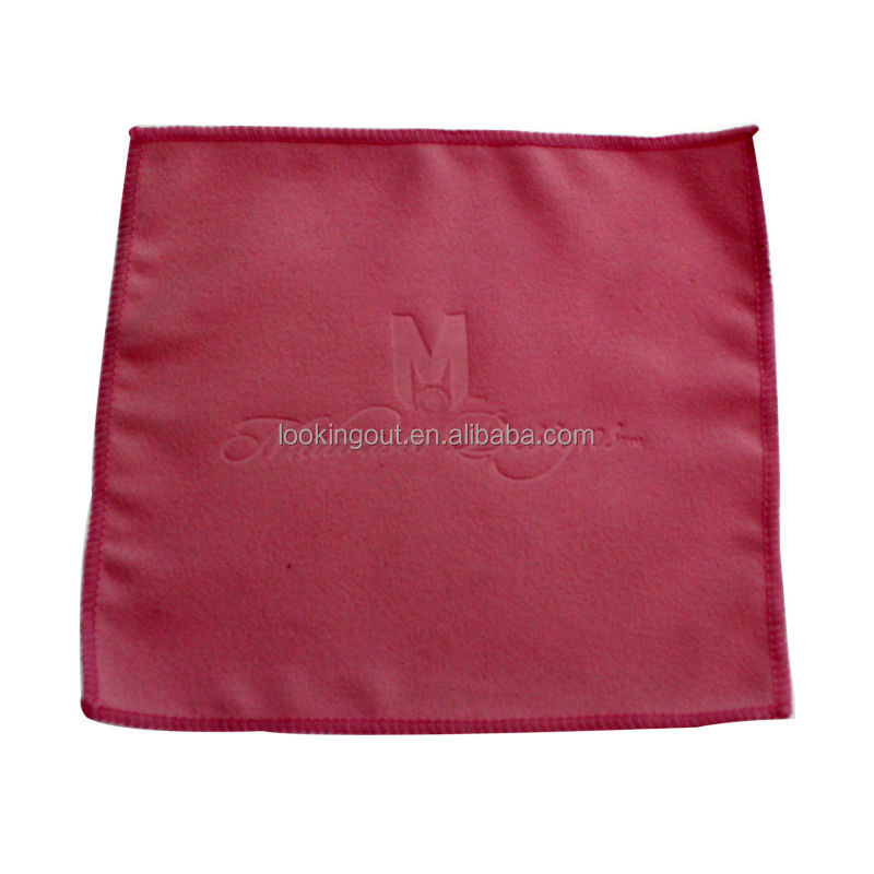 logos print customized microfiber camera lens cleaning cloth