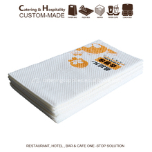 40X40cm 1/8 folded Virgin Wood Pulp Printed Dinner Table Paper Serviettes Napkin / printing paper napkin