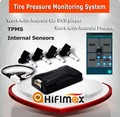 Hifimax car TPMS wireless TPMS bluetooth for Android phones TPMS tire pressure monitoring Android car radio tpms