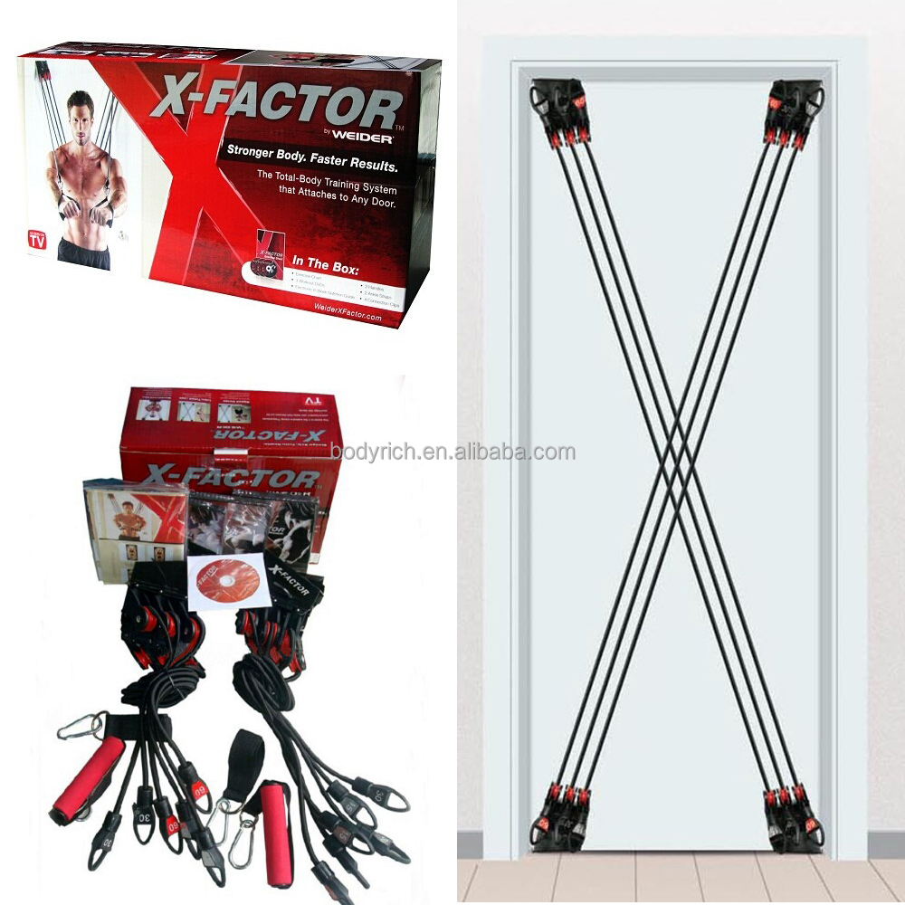 Hot Sell X-Factor As Seen On TV Door Gym Body Bands Workout