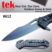 SOLD OUT Combo edge military self defense rescue survival folding knife