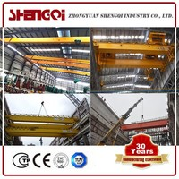 China Top 10 Electric overhead Traveling crane EOT Crane Manufacturer