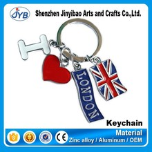 hot sale cheap custom souvenir like america souvenir keychain maker