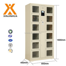 Superior quality 12 door barcode electronic auto storage cabinet