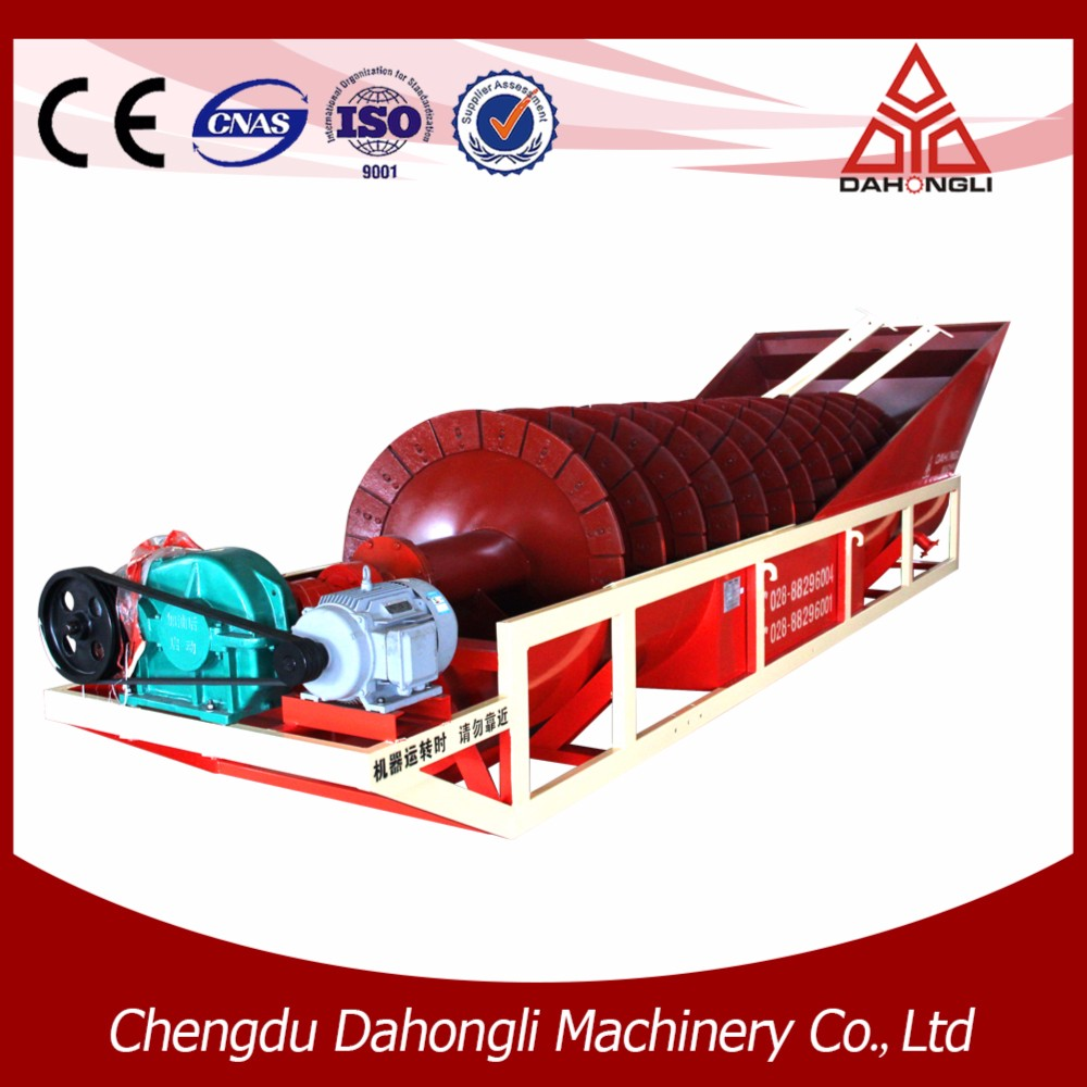 Special designed vibration screen sand washing machine