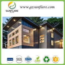 Exterior sheet wpc outdoor wood plastic composite wall panel