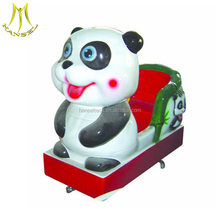 Hansel high quality kids games indoor playground equipment coin operated panda kiddie rides