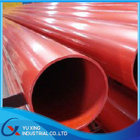 APL 5L GR.B liquid epoxy coated saw gas / oil steel pipe in Tianjin