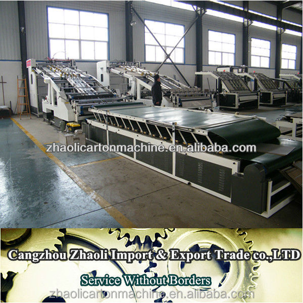 High Speed automaticAutomatic Carton Stacking Machine/Laminator in hebei dongguang