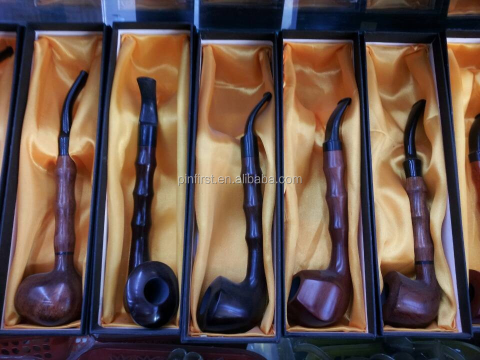 20Pcs Wood Tobacco Long Smoking Pipe Cigarette holder