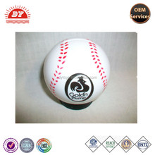 ICTI certificated custom made large plastic baseball ball coin bank