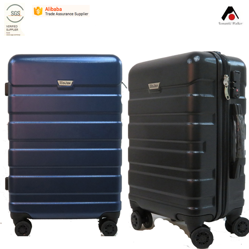 Hot sale 3pcs ABS travel trolley luggage bag set PET luggage