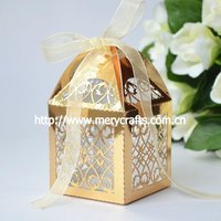 "laser cut ""filigree"" glitter gift box from Mery Crafts"
