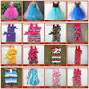 Single Tulle Lace Dress ; Chiffon child party dress girl baby dress