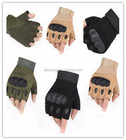 Open Finger Gloves Tactical Police gloves and kevlar security gloves for Army, Military, Police and security