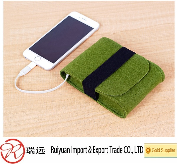 Multi-function felt phone bag for phone holder from alibaba express