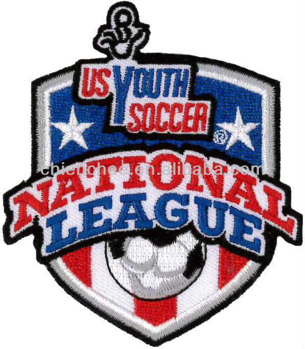 Embroidery Emblems - Heat-Seal US Youth Soccer Logo for National League (Patch/Emblem/Badge/Label/Crest/Insignia)