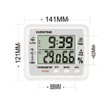 Digital Room Thermometer Hygrothermograph KT202