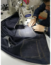 Royal Wolf 's explain how to stitched the jeans together (sample process) 13 men jeans