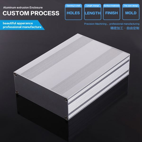 145*54-D mm Top Quality Extrusion Aluminum Project Housing /aluminum extrusion box