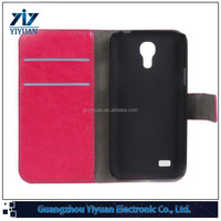 OEM High quality wallet leather phone case for Galaxy S4 mini