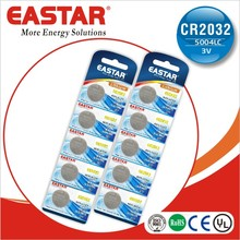 blister card 3v button cell cr 2032 coin batteries