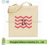 8OZ Market Shopping Grocery Natural Cotton Canvas Bag