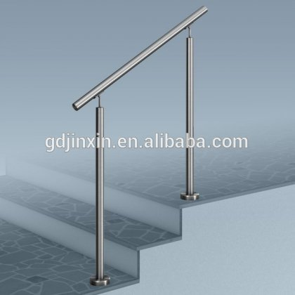Stainless Steel Stair Step Safety Exterior Handrail