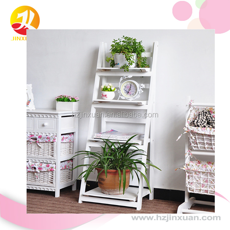 Low MOQ OEM produce cheapest price fast shipment best export service Garden Wood Flower Rack, Flower display Shelf, Plant Stand