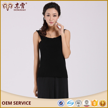 Women's cashmere warm vest camisoles