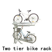 5 Bike Bicycle Floor Parking Rack Storage Stand wave bike rack