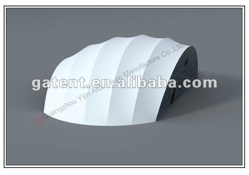 Fabric roof structure,curved roof architecture membrane structure