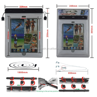 Hot Popular PVC Waterproof Bag For IPad, Waterproof Bag For Outdoor, Waterproof Bag For Diving 50 Pieces (Min. Order)