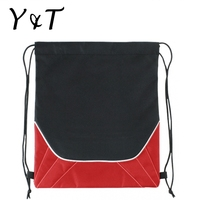 New arrival cotton canvas mash drawstring shoes bag/gym sack drawstring bag