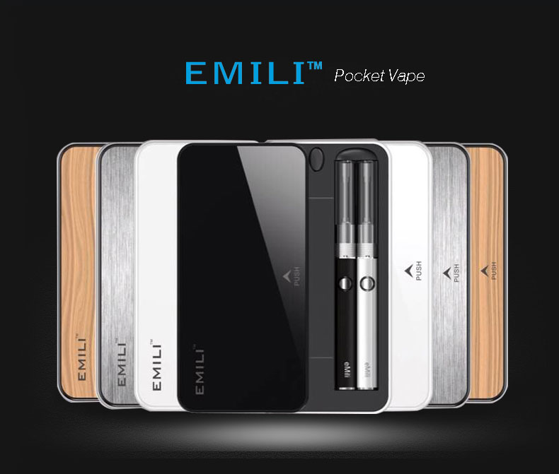 Best portable starter kit Emili with 1300mAh charging case