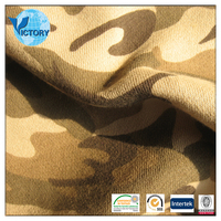 100% Cotton Camouflage Print Fabric