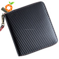 Carbon fiber PU leather glo em cigarette box package