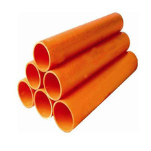 Iso9001 qualified large diameter drainage colored PVC corrugate pipe