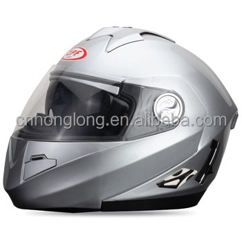 Flip-up DOUBLE VISOR motorcycle helmets (ECE&DOTcertification)