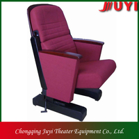 JY-601 Backrest conference hall Wooden Tablet Folding chair