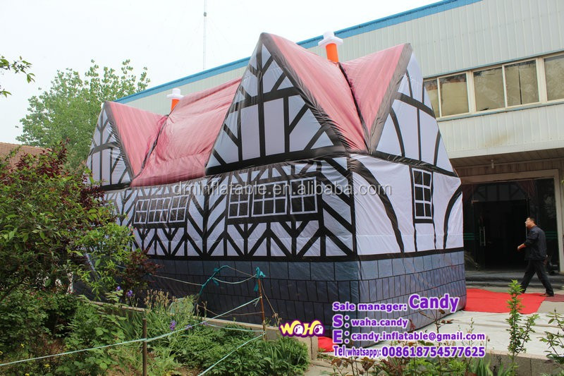 2016 Popular outdoor inflatable pub,inflatable bar tent,inflatable cabin for party and event