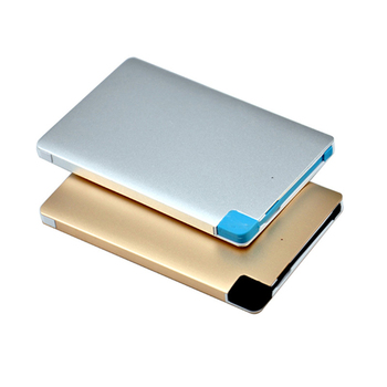 2018 Top Selling Products Credit Card Portable Power Banks 2600mah