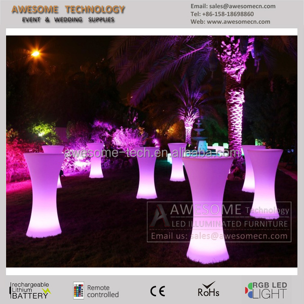 LED Drybars / glow event furniture (TP110B)